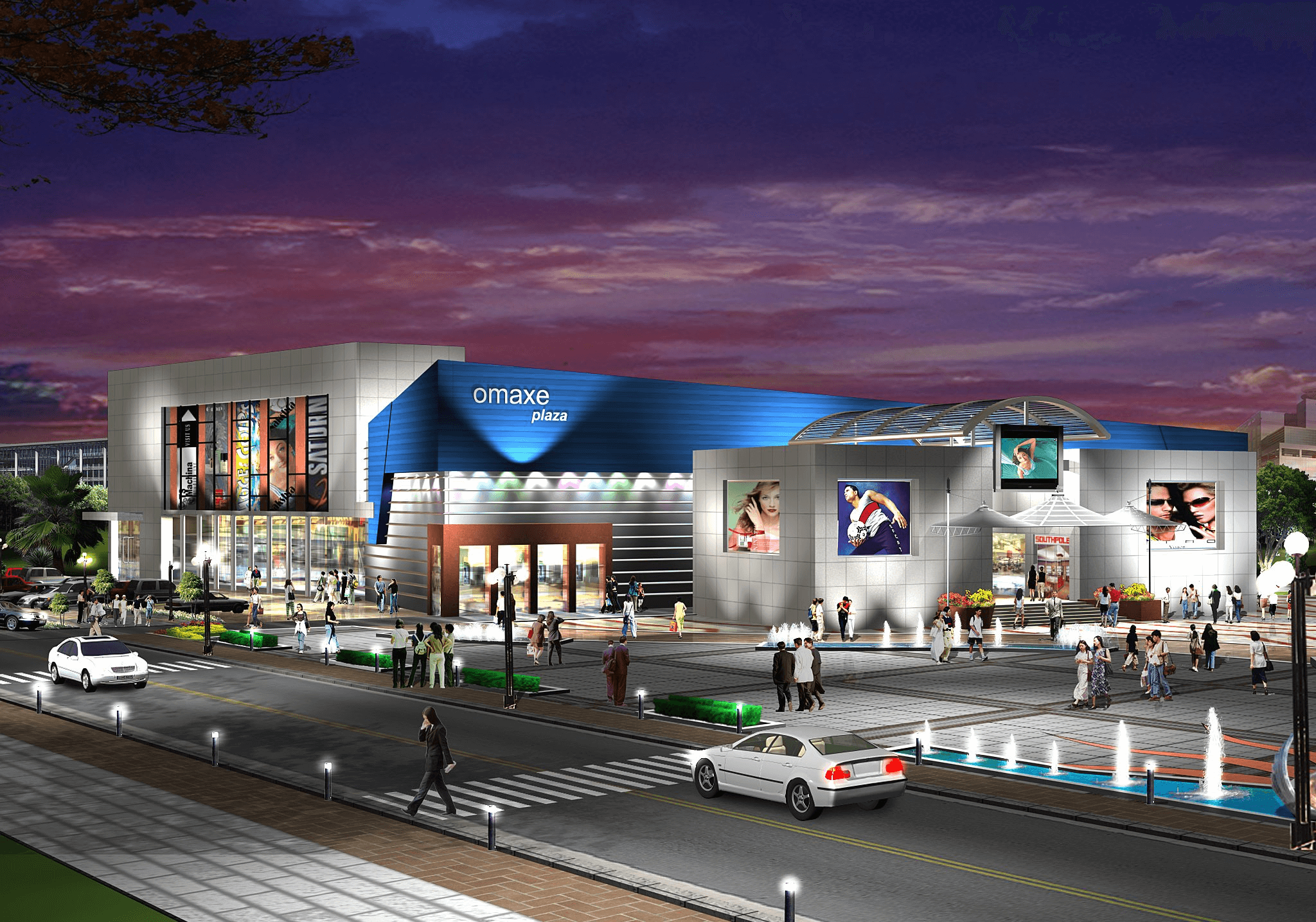 Omaxe mall sonipat Night (1)